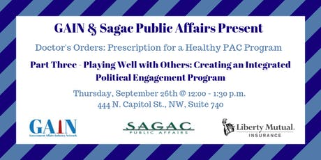 Creating an Integrated Political Engagement Program tickets