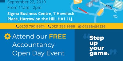 Accounts Open Day | Harrow, West London
