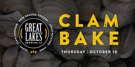 Clam Bake at Great Lakes Brewing Co. tickets