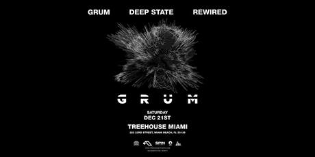 GRUM @ Treehouse Miami tickets