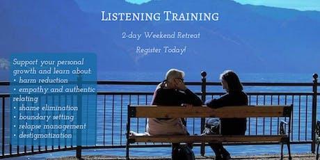 October Listening Training tickets