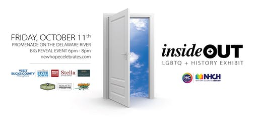 Big Reveal Event - inside+out LGBTQ History Exhibit