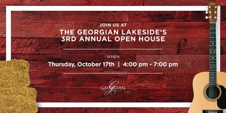 The Georgian Lakeside 3 Year Anniversary Party tickets