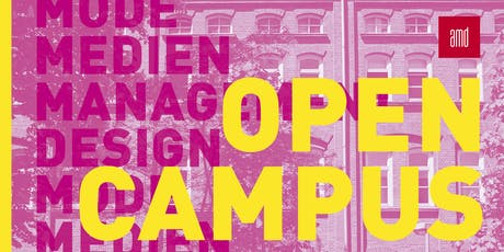Open Campus +++ DESIGN +++ Tickets