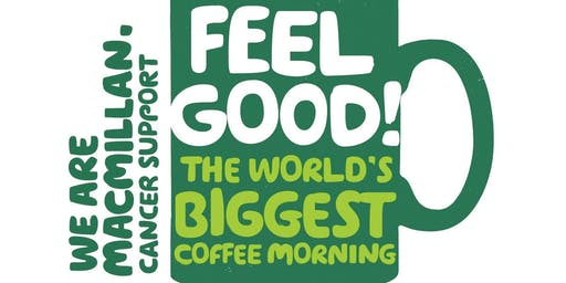 Our customer Giant Training invite you to Macmillian Coffee Morning