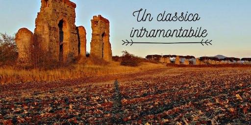 Tramonto sugli Acquedotti di Roma Antica