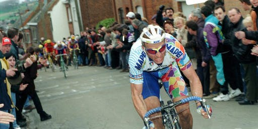 """The """"Lion of Flanders"""" Johan Museeuw Q&A at Corner Haus"""