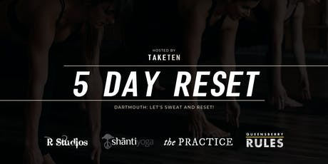 DARTMOUTH 5-DAY WELLNESS RESET tickets
