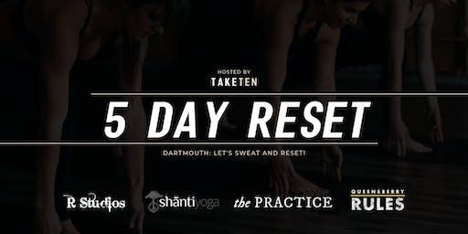 DARTMOUTH 5-DAY WELLNESS RESET