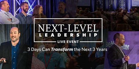 Next-Level Leadership LIVE Event 2020 tickets