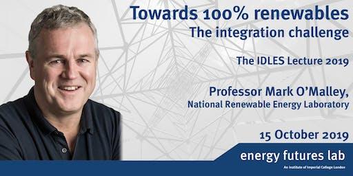 Towards 100% renewables: The integration challenge