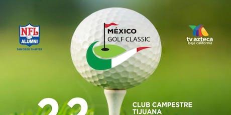 NFL Alumni SD Chapter - TV Azteca  Mexico Golf Classic tickets