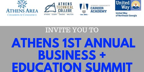 Athens 1st Annual Business + Education Summit tickets