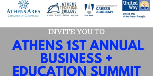 Athens 1st Annual Business + Education Summit