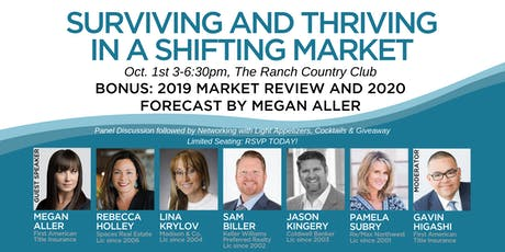 Surviving and Thriving in a Shifting Real Estate Market tickets