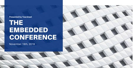 The Embedded Conference tickets
