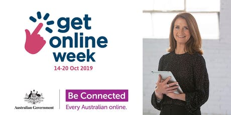 GET ONLINE WEEK - Digital Technology Discovery for Seniors and over 50s! tickets