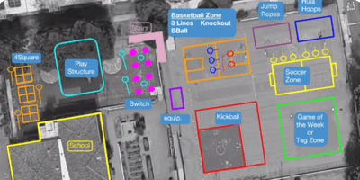 Playworks Mapping Your Playground  Happy Hour