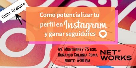 Como potencializar tu perfil en Instagram y ganar seguidores entradas