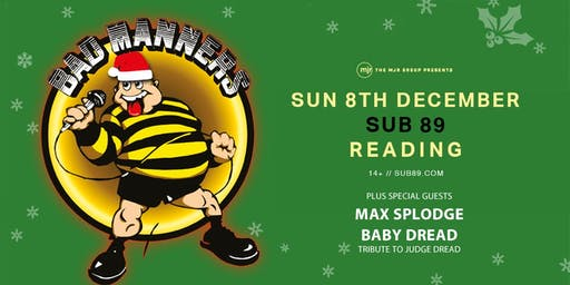 Bad Manners, Christmas Tour 2019! (Sub89, Reading)