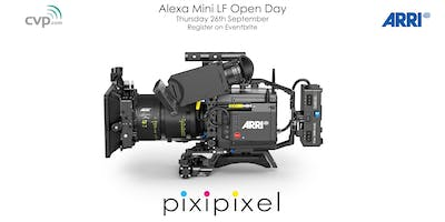 Shooting Large Format with the Arri Mini LF,  Pixipixel & CVP