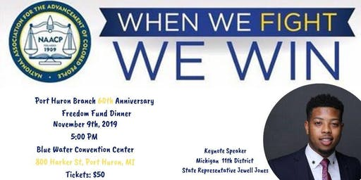 Port Huron Branch of the NAACP 60th Anniversary Freedom Fund Dinner