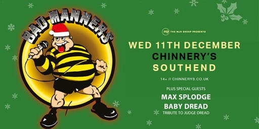 Bad Manners, Christmas Tour 2019! (Chinnerys, Southend)