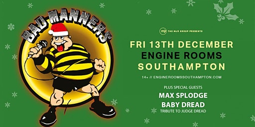 Bad Manners, Christmas Tour 2019! (Engine Rooms, Southampton)
