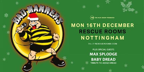 Bad Manners, Christmas Tour 2019! (Rescue Rooms, Nottingham) tickets
