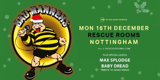 Bad Manners, Christmas Tour 2019! (Rescue Rooms, Nottingham)