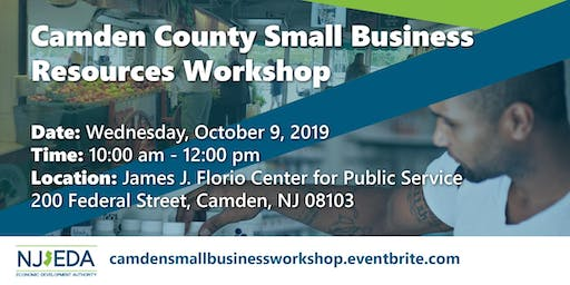 Camden County  Small Business Resources Workshop