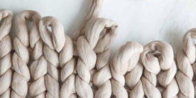 Arm Knitted Blankets Workshop