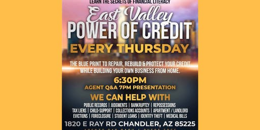 The Power of Credit East Valley AZ