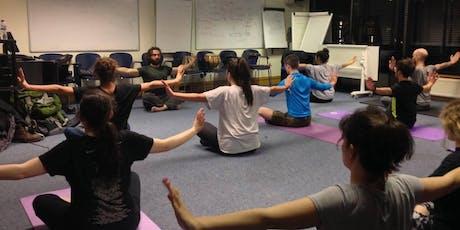 Weekly Yoga & Meditation @ University of Glasgow tickets