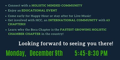 Boca HCC December HOLIDAY Event!