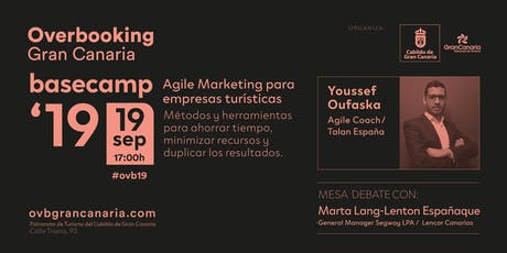 Overbooking Gran Canaria: Basecamp Septiembre 2019 entradas