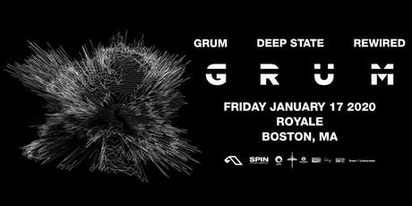 Grum | 1.17.20 | 10:00 PM | 21+ tickets