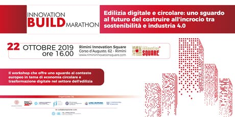 INNOVATION BUILD MARATHON biglietti
