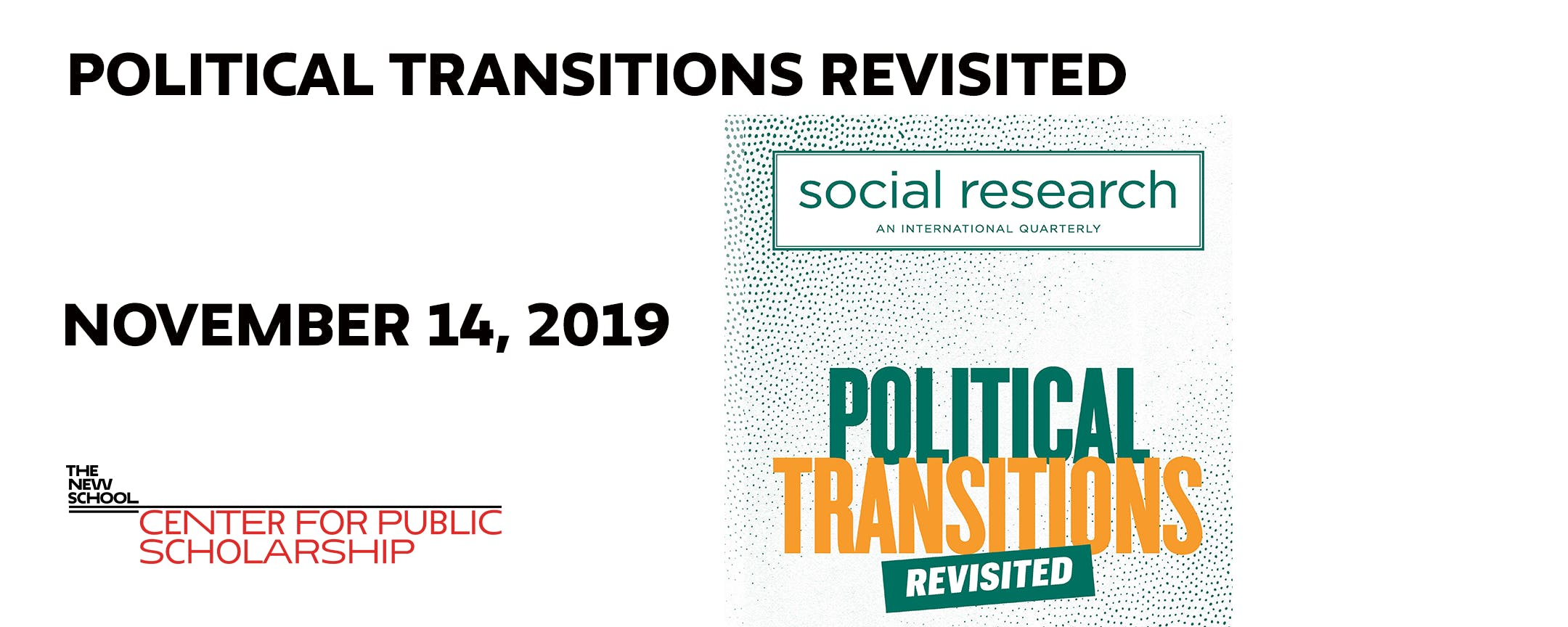 Political Transitions Revisited