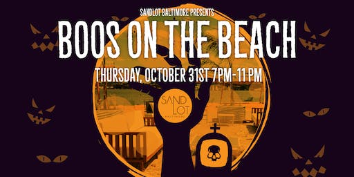 Boos on the Beach - Halloween Party at Sandlot