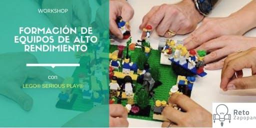 Sesión de Lego Serious Play 8va Generación
