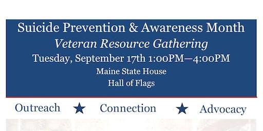 Veteran Resource Gathering at Maine State House