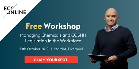 Free Workshop : Managing Chemicals and COSHH Legislation in the Workplace tickets