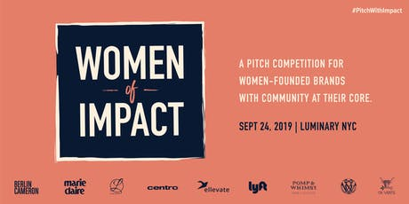 Women Of Impact Pitch Competition tickets