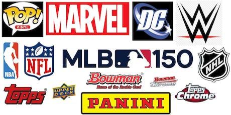 Greenville Sports Card Memorabilia & Comic Book Show October 19 tickets