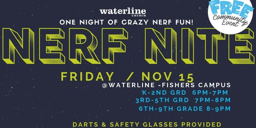 Nerf Night at Waterline Church