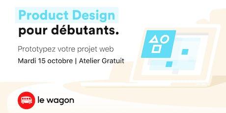 Atelier gratuit: Product Design pour débutants tickets