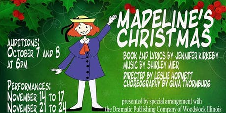Madeline's Christmas tickets