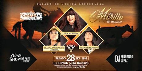LAS MORILLO EN CANAIMA tickets