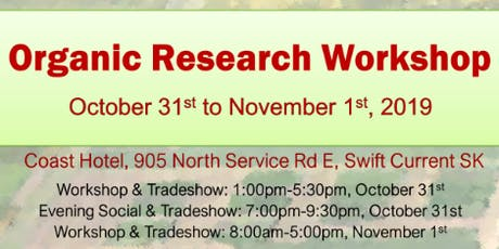 Organic Research Workshop tickets